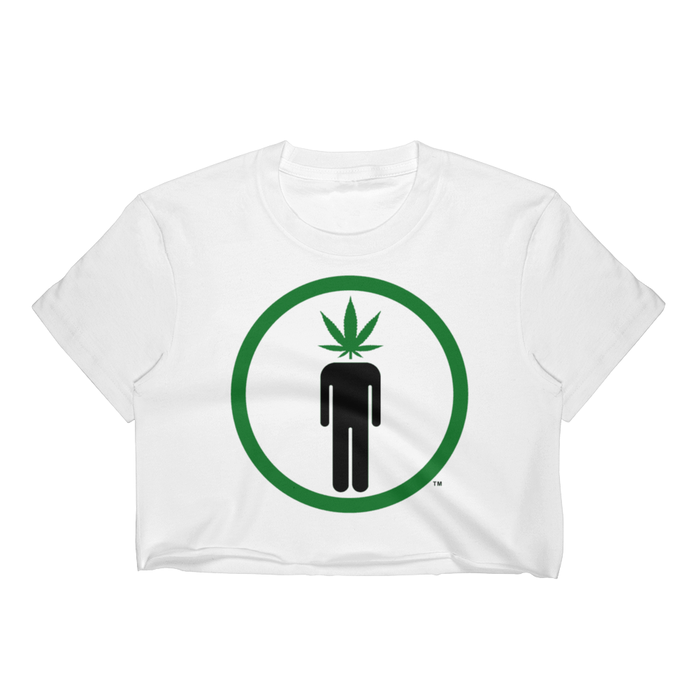 Pot Head Women's Crop Top