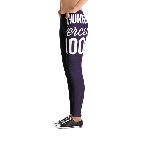 Gatorlife/1Hunnid Percent Hood Leggings