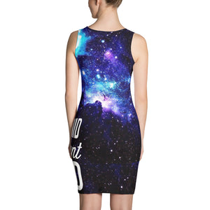 100pH Logo Galaxy Print Dress