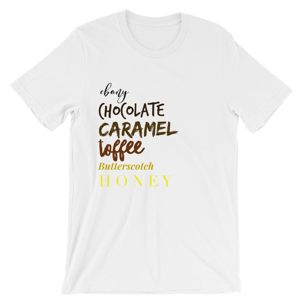 Brown is Beautiful Unisex short sleeve t-shirt