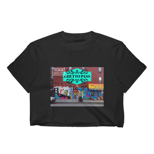 BK Ghetto Pass Women's Crop Top Crop Top from [shop name]