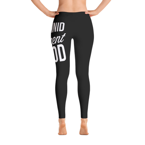 Black 1Hunnid Percent Hood Leggings