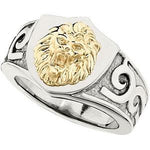 Stainless Steel Lions Head Ring from Miles Beamon Jewelry - Miles Beamon Jewelry