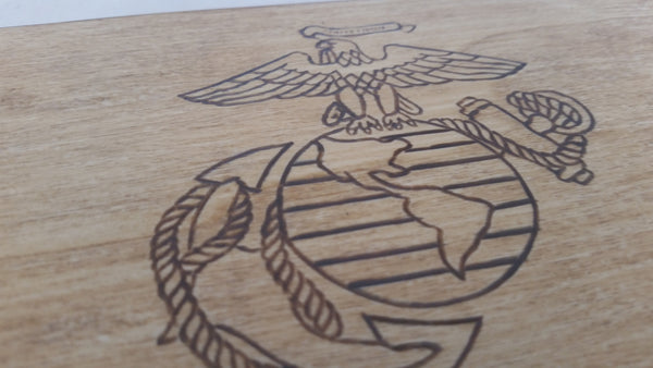 The Title - United States Marine Corps Keepsake Box