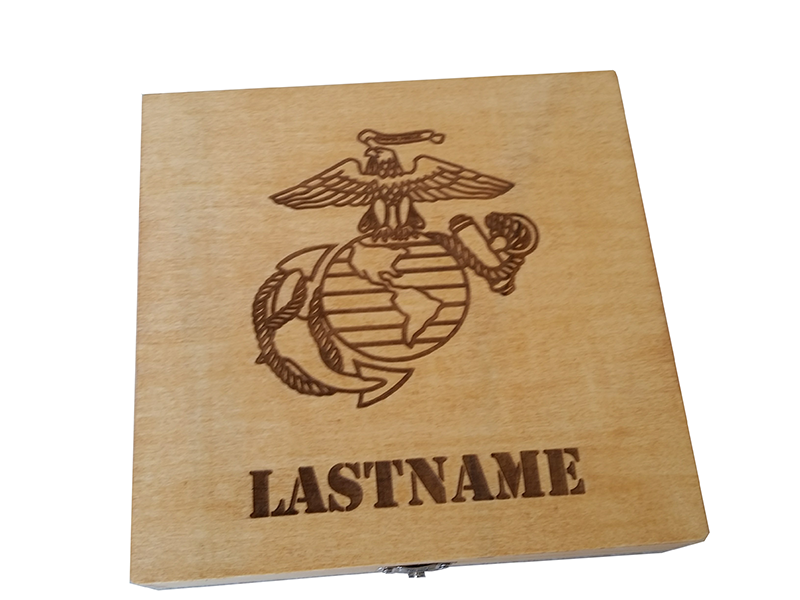 Marine Boot Camp Graduation Gift Usmc Personalized Keepsake Box Marine Corps Retirement