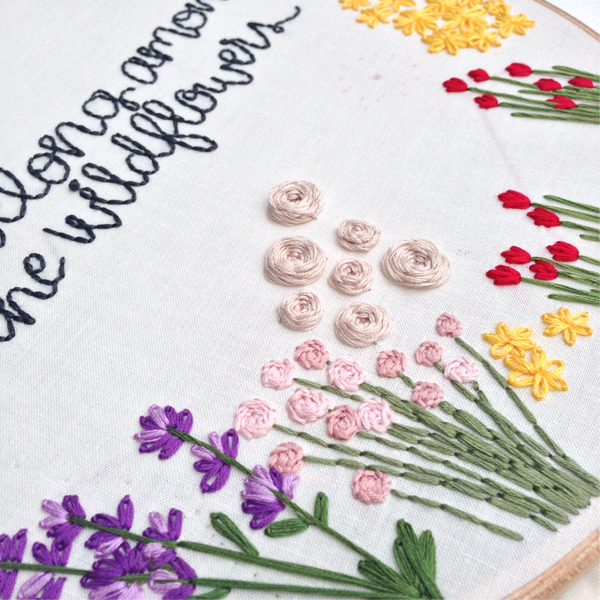 Roses Embroidery How To
