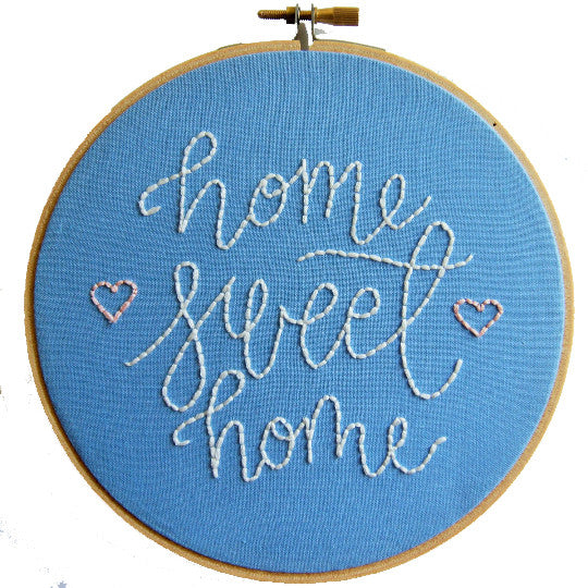 Home Sweet Home / Printable Pattern