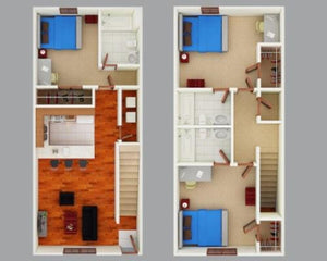 Turner Townhomes - Off Campus Housing LLC - 14