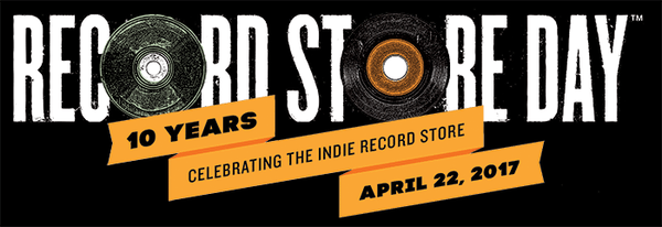 Record Store Day, April 22, 2017