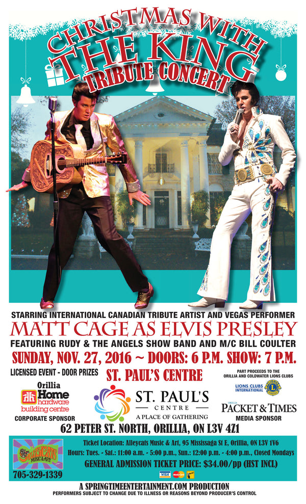 Christmas With the King - Elvis Tribute