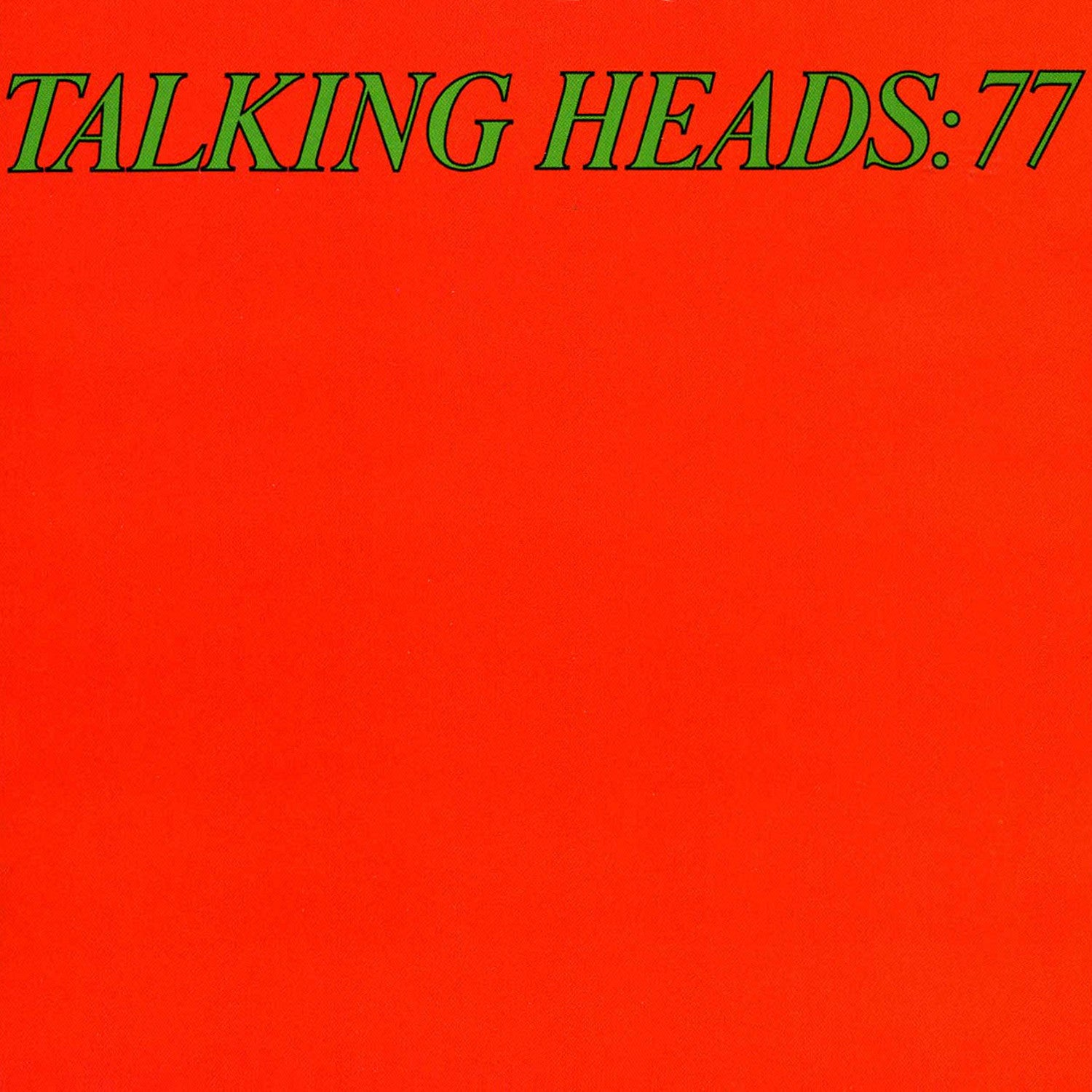 Talking Heads - 77 (Vinyl LP Record)