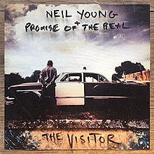 Neil Young + Promise of the Real - The Visitor (Vinyl LP Record)