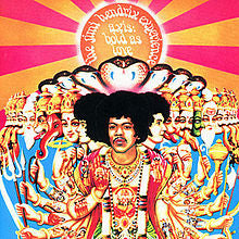 Jimi Hendrix - Axis Bold As Love (Vinyl LP Record)
