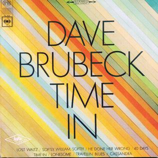Dave Brubeck - Time In (Vinyl LP)