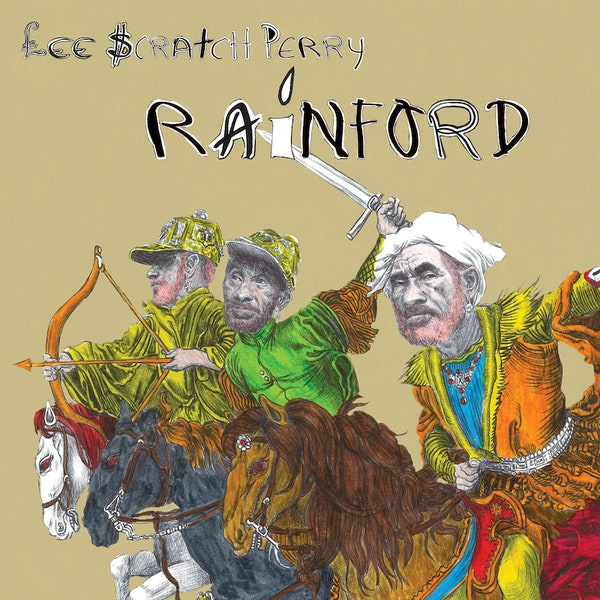 Lee Scratch Perry  - Rainford (Vinyl LP Record)