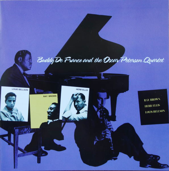 Buddy De Franco and the Oscar Peterson Quartet (Vinyl LP)