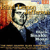 Blind Lemon Jefferson - Black Snake Moan (180gm New Vinyl LP Record)