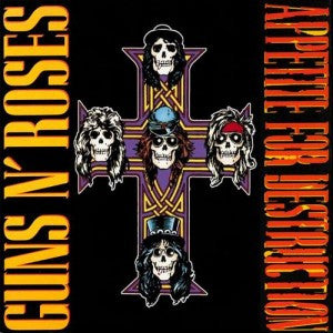 Guns N Roses - Appetite For Destruction (Vinyl LP Record)