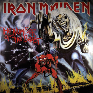Iron Maiden - Number of the Beast (Vinyl LP Record)