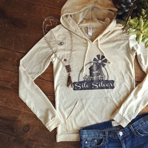 Silo Silver Hoodie