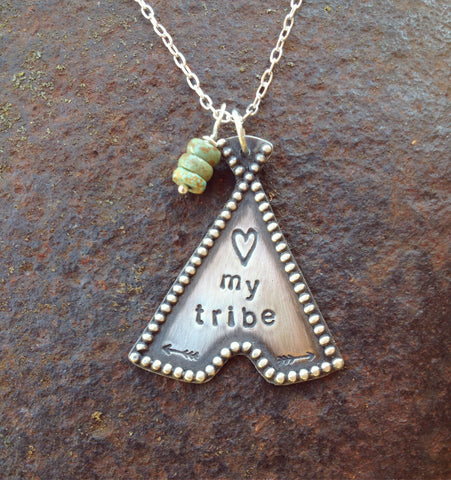 Custom Teepee Necklace