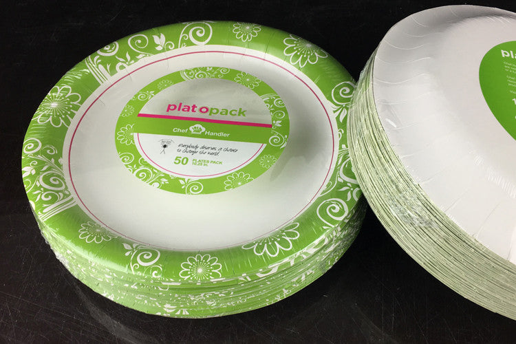 "Ultra Paper Plates, 10.25"" - 500ct - Atlanta Design"