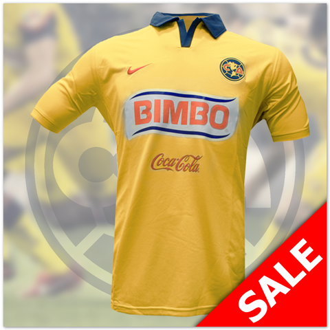 Club America Home Jersey: Yellow