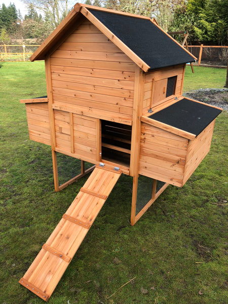 Resort chicken coop house only. IN STOCK READY TO SHIP