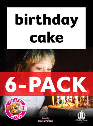 birthday cake 6-pack (pre-level 1)
