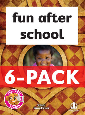 fun after school 6-pack (pre-level 1)