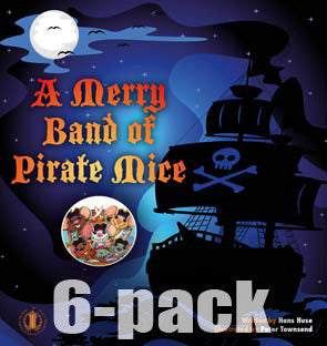 A Merry Band of Pirate Mice 6-pack (Level 15)