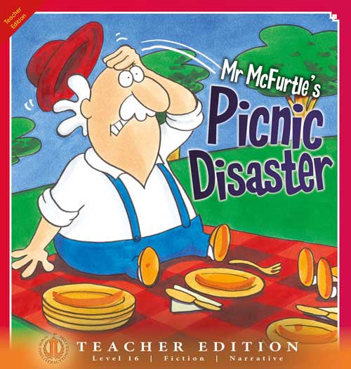 Mr McFurtle's Picnic Disaster (Teacher Edition - Level 16)