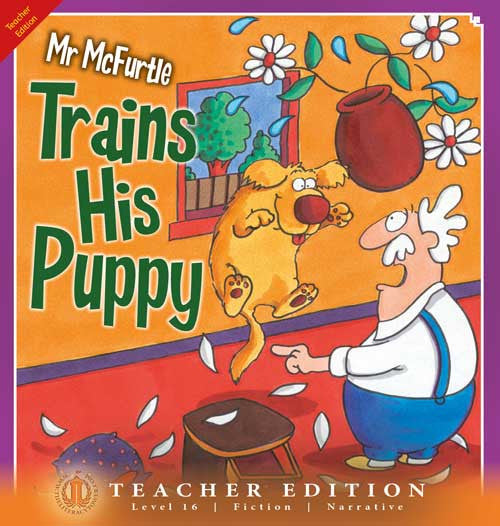 Mr McFurtle Trains His Puppy (Teacher Edition - Level 16)