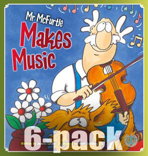 Mr McFurtle Makes Music 6-pack (Level 17)