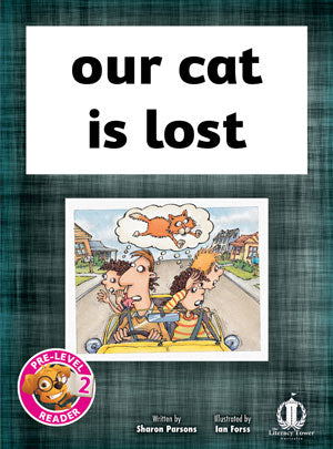 our cat is lost (Pre-level 2)