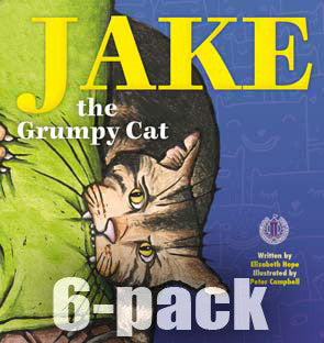 Jake the Grumpy Cat 6-pack (Level 20)