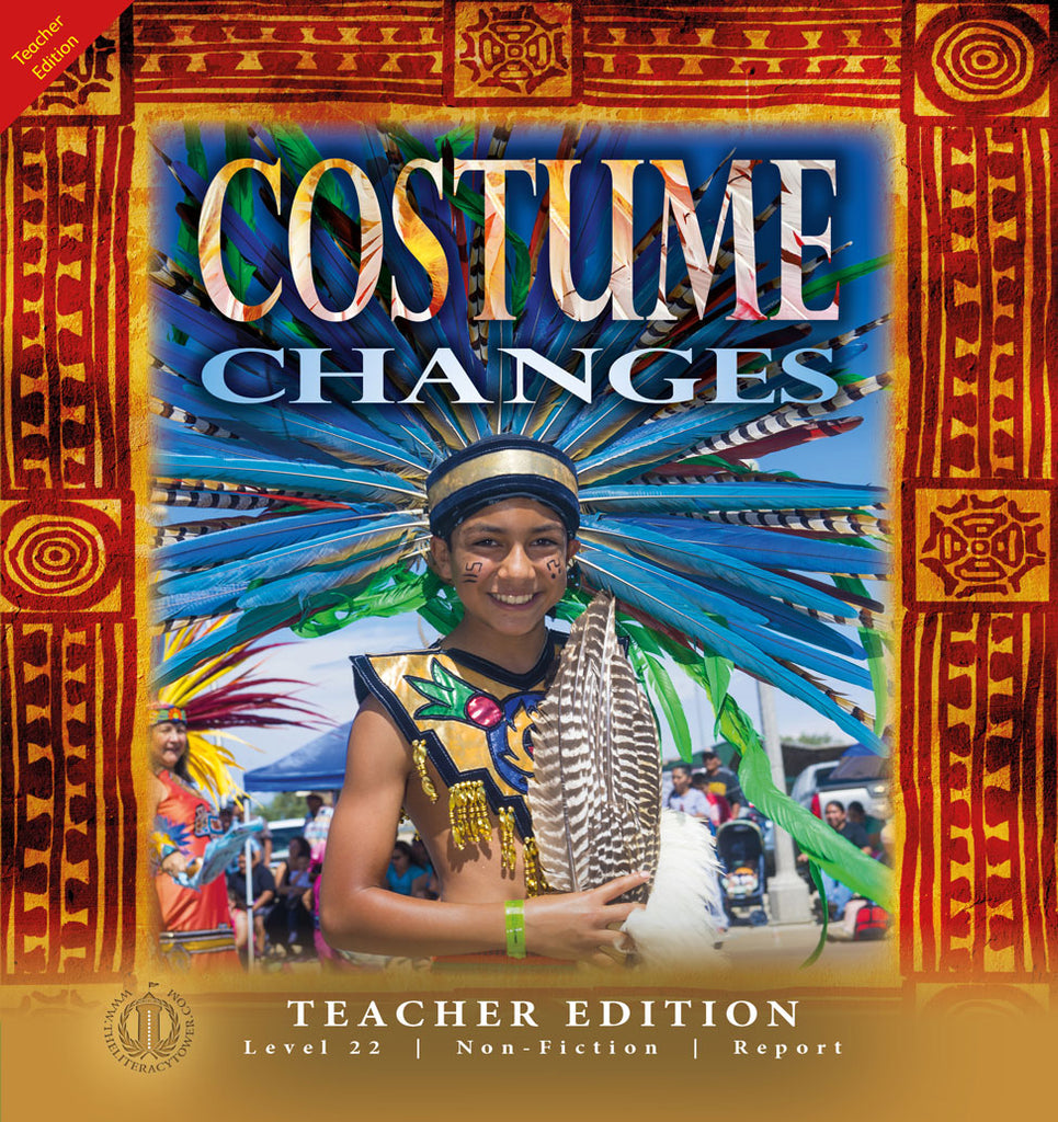 Costume Changes (Teacher Edition - Level 22)