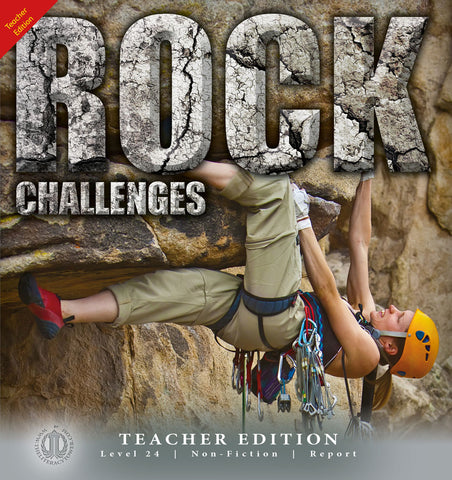 Rock Challenges (Teacher Edition - Level 24)