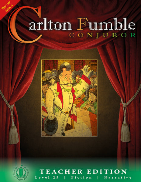 Carlton Fumble, Conjuror (Teacher Edition - Level 25)