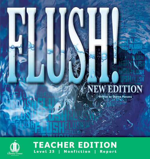 Flush! (Teacher Edition - Level 25) New Edition