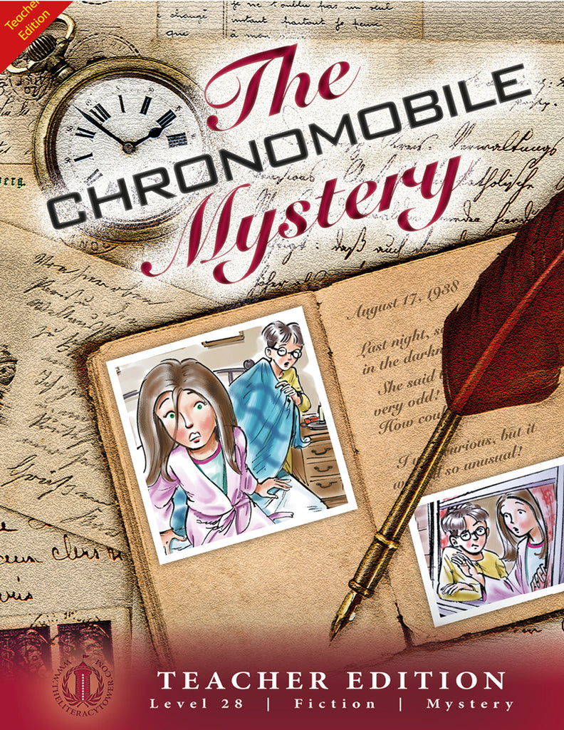 The Chronomobile Mystery (Teacher Edition - Level 28)