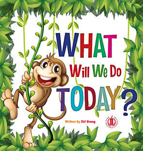 What will we do today? Guided reader book cover