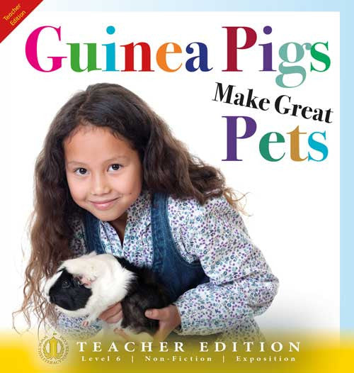 Guinea Pigs Make Great Pets (Teacher Edition - Level 6)
