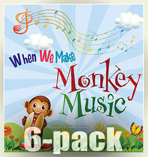 When We Make Monkey Music 6-pack (Level 7)