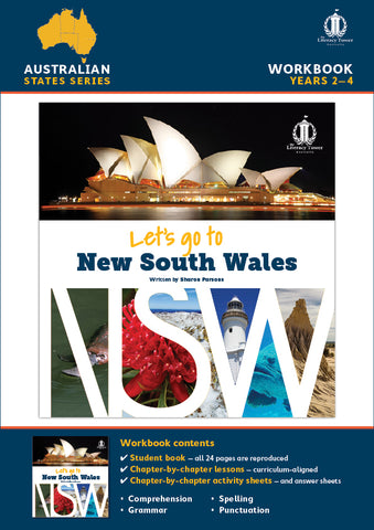 Let's Go to New South Wales PDF Workbook