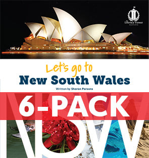 6-pack Let's Go to New South Wales (NSW) Australian States Series (Level 31+)
