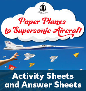 Paper Planes to Supersonic Aircraft Activity Sheets and Answer Sheets