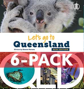 Let's Go to Queensland 6-pack (Level 22) NEW EDITION