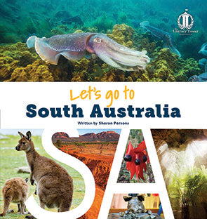 NEW Let's Go to South Australia (SA)  Australian States Series (Level 31+)