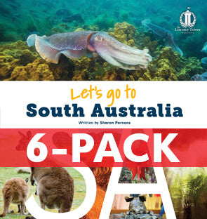 6-pack Let's Go to South Australia (SA) Australian States Series (Level 31+)